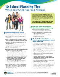 Download 10 School Planning Tips When Your Child Has Food Allergies