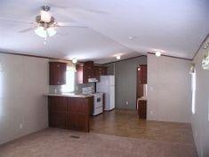 single wide mobile home floor plan of living room