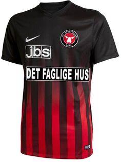 FC Midtjylland 2016 2017 Home Kit Soccer Kits db689dc36ebac