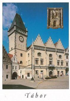Tábor (Old Town Hall) Czech Republic #Postcard