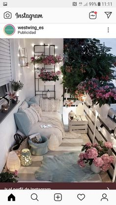 Examples of Small Balcony Decoration, balconies furnitures, we have prepared great ideas for those with small balconies. More than 100 examples for small balcony decoration. My balconies are very . Apartment Balcony Decorating, Apartment Balconies, Apartment Living, City Apartments, Apartment Porch, Apartment Ideas, Decorating Small Apartments, Small Cozy Apartment, Cozy Apartment Decor