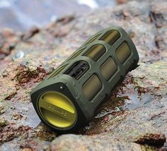 Philips SB7200 ShoqBox Portable Bluetooth Speaker is Built for Camping