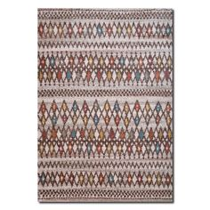 Rugs - Granada Multi Triangles Area Rug (5' x 8')