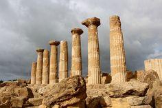 Tempio di Ercole ((Sicilia). Sicily, Italy