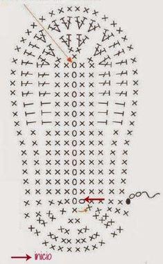 Zapatitos a crochet para bebé de 6 a 9 meses. ¡Adorables!