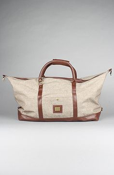 $50 Obey Uptown Duffle Bag in Brown on PLNDR - Use repcode SMARTCANUCKS at the checkout for 10% off your purchase on PLNDR.com - http://lovekarmaloop.com