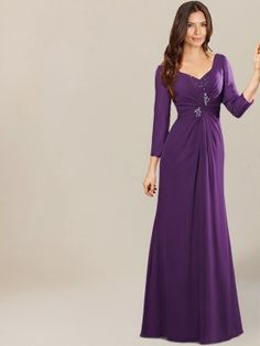 mother of groom dresses_Violet
