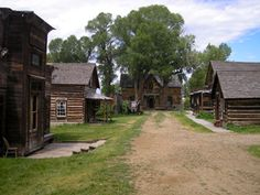 Ghost Towns & Mining Camps of Montana