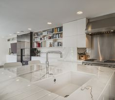 Kitchen | Interior Design of Private House Tarrant Place, London UK by Bart Eyking