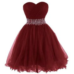 Short Burgundy Prom Dresses Cocktail Dress Party Gown pst0324 on Storenvy