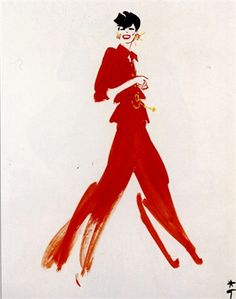 Chanel illustrated by Rene Gruau