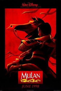 Original poster from the theatrical release of Mulan