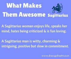Things to know about #Sagittarius men and women.