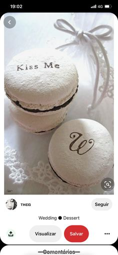 Wedding Desserts, Place Cards, Place Card Holders