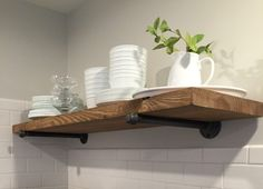 Rustic Floating Shelves 10 By Urbanfarmhousegroup Kitchen Wall Rack Ikea Storage Bathroom