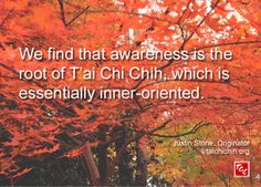 Quote by Justin Stone, Originator of the moving meditation T'ai Chi Chih: Find more info at www.taichichih.org Justin Stone, Stone Quotes, Chi Energy, True Nature, Martial Arts, Meditation, Healing, Inspiration, Style