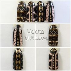 #fashion #fashionista #valentino #nail #nails#naildesign #blackandgold #nanoprofessional #gellac #gelpaint #paintgel #paintpoint #мода #ногти #нейлдизайн #дизайнногтей #росписьногтей #росписьгелями #росписьточками
