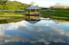 Huila Turística: Región cafetera de colombia, Garzon Huila Countryside, Gazebo, Hiking, Outdoor Structures, South America, Coffee Percolator, Beautiful Places, Paths, Walks