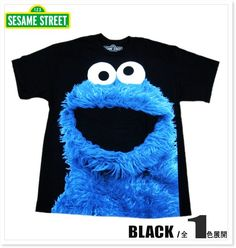 SESAMESTREET-半袖Tシャツ/COOKIEBIGPHOTO-26222018-セサミストリート