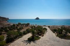 An amazing sea view from our balconies!!