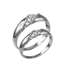 White Gold Diamond Wedding Band Duo Set for him and her. Available in and Stones: Diamond Stone color: G-H. Gold Diamond Wedding Band, Silver Wedding Rings, Wedding Ring Bands, Sterling Silver Cross Pendant, Sterling Silver Rings, Silver Jewelry, Diamond Jewelry, White Gold Rings, White Gold Diamonds