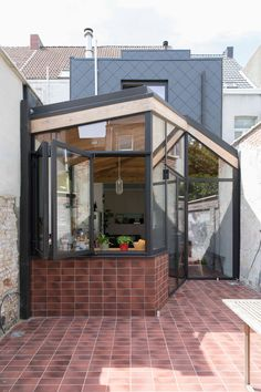 Somephoto Surprising Concepts For Glass Porch, Arched Doors, Garden Doors, House Extensions, Small Towns, Townhouse, Tent, Windows, Contemporary