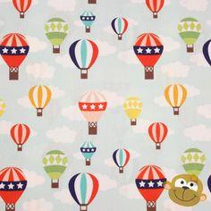 Lazy Balloon Ride Blue