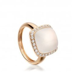 I love this 18ct rose gold ring with moonstone and diamonds from astleyclarke.com moonstone engagement ring