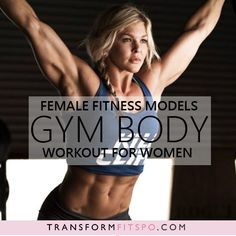 Female Fitness Models Gym Body Workout