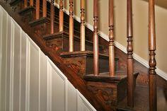 1860 farm house stairways | mosby farmhouse 07 300x200 Historic Farmhouse Renovation is Complete