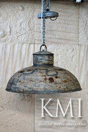 "industrialna lampa  ""Loft Colors"" M-2271 szara"