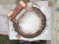 Construction du Four à pain/pizza - Mon four à pain en briques réfractaires Fire Pit Heater, Pain Pizza, Bread Oven, Four A Pizza, Construction, Barbecue, Recycling, Oven, Brick Ovens