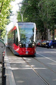 CAF Urbos3 1511 Belgrade tram
