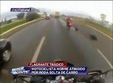 Galdino Saquarema Motociclista morre atingido por roda solta de carro