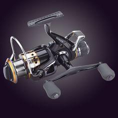 Free Spare Spool Metal  Spinning Reel Saltwater   9+1BB Coil Carp Fishing Carretilha Reel Fishing Jigging Reel