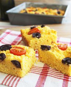 Pão de Milho de Minuto Sem Glúten | Blog Figos & Funghis