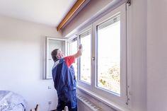 Reinigung der Glasflächen nach erfolgter #Fenstermontage nach #ÖNORM #B5320 in Linz / Oberösterreich! Montage, Windows, Windows And Doors, Linz, Ramen, Window