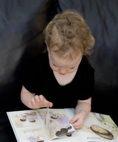 Montessori-inspired books from Hands-on-Prints incorporate parenting advice and mindfulness. My kids love the sensory letters in Around the World from a to z book!