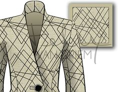 """Check out new work on my @Behance portfolio: """"Random Walk, textile print & suit storyboard"""" http://be.net/gallery/31342655/Random-Walk-textile-print-suit-storyboard"""