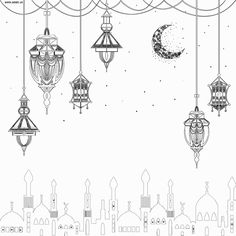Colouring pages - ADaBi Islamic books gifts for kids Eid Crafts, Ramadan Crafts, Islamic New Year, Islamic Art, Poster Ramadhan, Eid Boxes, Wallpaper Ramadhan, Eid Mubarak Wallpaper, Eid Card Designs
