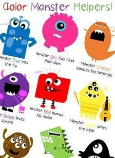 Fun way to help kids with their basic color recognition through rhyme.  Was looking for something for both my boys to help them learn their basic colors and could not find anything that kept their attention, so I made my own!  Great for keeping their atte