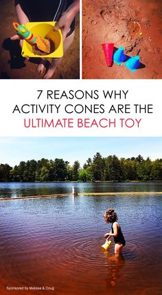 Parent-to-Parent Travel Tips: Including 7 reasons why activity cones are the ultimate beach toy
