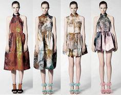 Christopher Kane Galaxy-Print Dresses