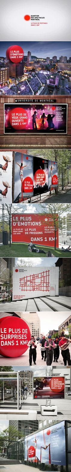 Quartier des spectacles   Campagne intégrée / Integrated campaign   lg2boutique