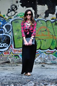 This girl's blog is amazing. She tells you exactly where she got everything, and it's inexpensive! Blog = SEQUINS.