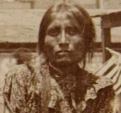 Ziyeh (the wife of Geronimo) - Chiricahua Apache - no date