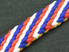 How to make a (Spirit of) 1776 Sinnet Paracord Bracelet