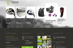 Responsive template, based on clean code, and powered by Sparky Framework for Joomla. Themes Photo, Web Themes, Joomla Themes, Site Down, Professional Website, T 4, All The Colors, Golf, Coding