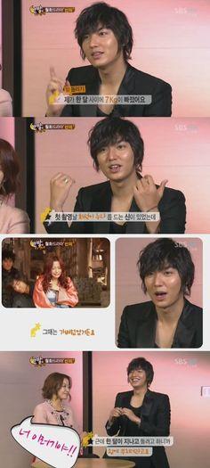 Lee Min Ho reveals he lost 7 kg in one month