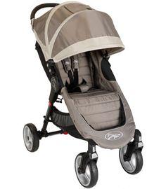 Baby Jogger City Mini 4-Wheel Single Stroller - Sand/Stone